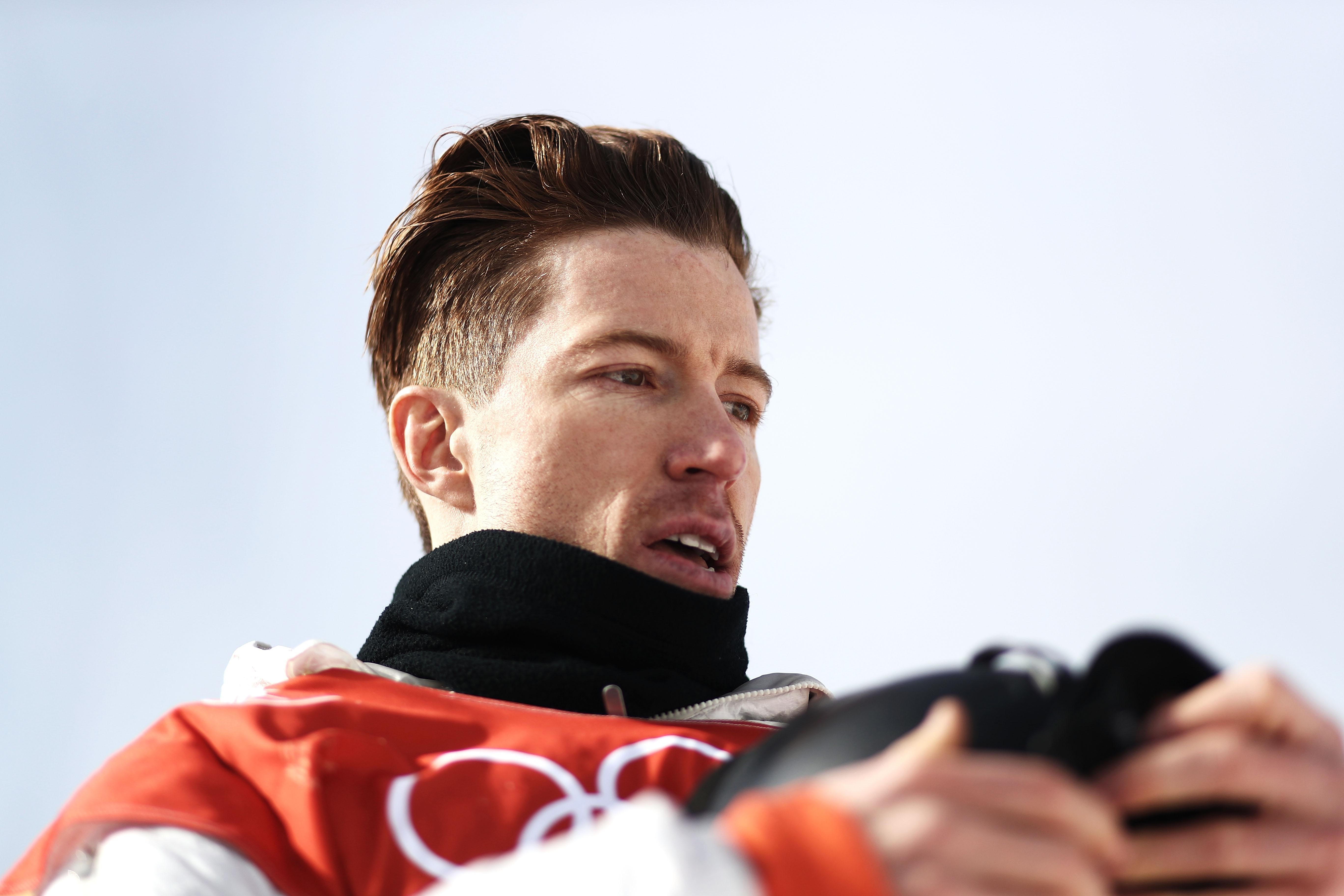 PYEONGCHANG-GUN, SOUTH KOREA - FEBRUARY 13:  Shaun White of the United States reacts after his run during the Snowboard Men's Halfpipe Qualification on day four of the PyeongChang 2018 Winter Olympic Games at Phoenix Snow Park on February 13, 2018 in Pyeongchang-gun, South Korea.  (Photo by Ryan Pierse/Getty Images)