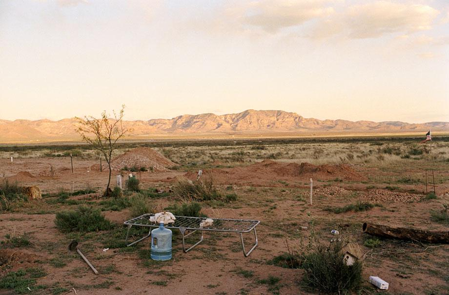 Thilde Jensen Canaries The new frontier, away from everything. Portal, Ariz., 2005.