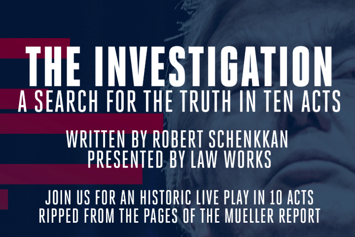 Ad for The Investigation.