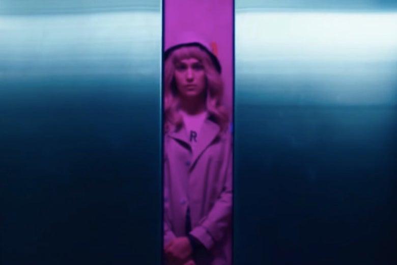 A neon-lit scene in Gemini.