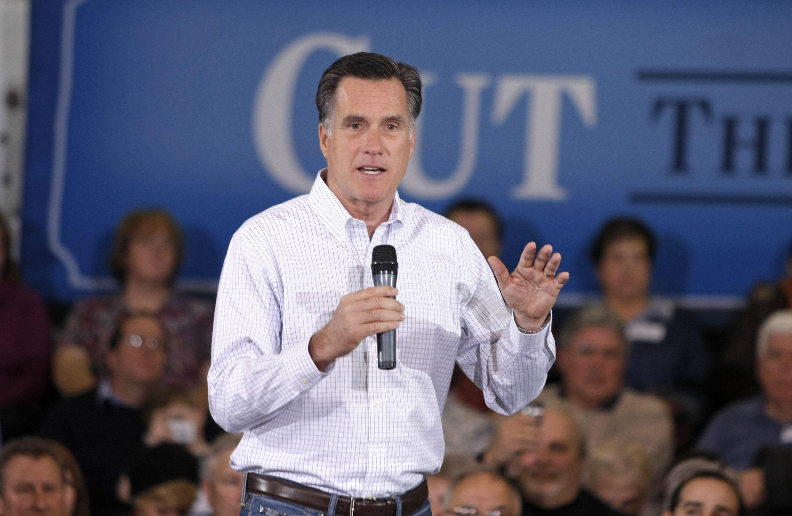 Mitt Romney speaks in Arizona.