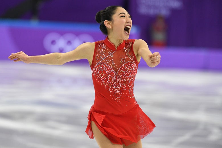 Mirai Nagasu Is the Third Woman to Do a Triple Axel in the Olympics. Watch All Three.