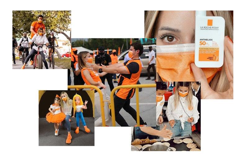Various photos from Mariana Rodríguez's social media.