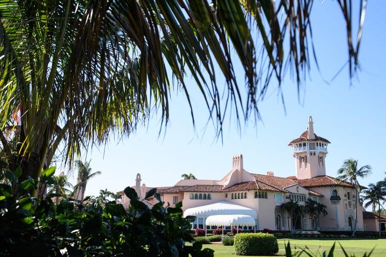 Mar-a-Lago resort in Palm Beach, Florida