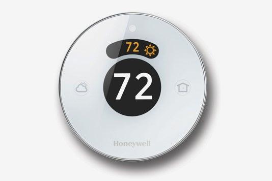Honeywell Lyric Round 2.0 Wi-Fi Smart Programmable Thermostat.