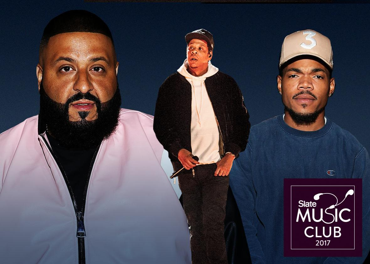 DJ Khaled, Jay Z, and Chance the Rapper