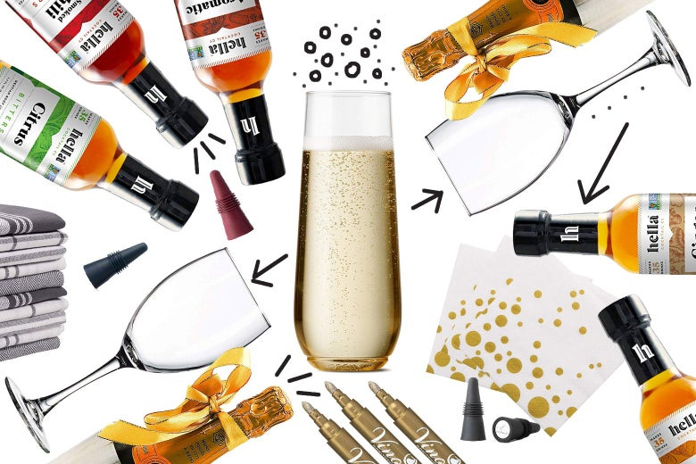 Customizable Champagne Cocktails Are the Perfect Elegant Holiday Beverage