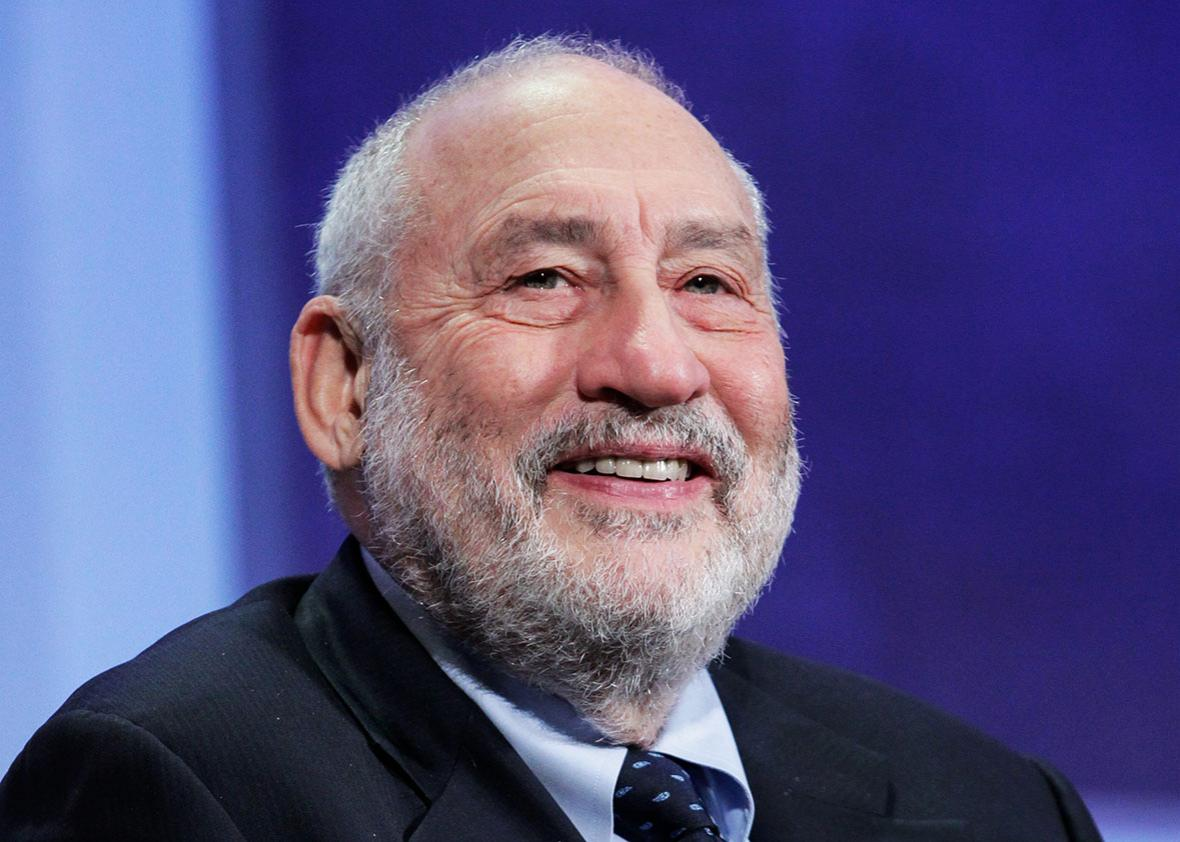Joseph Stiglitz, Professor, Columbia University speaks on stage at the Escalators of Opportunity session during the third day of the 2015 Clinton Global Initiative's Annual Meeting at the Sheraton New York Hotel & Towers on September 28, 2015 in New York City.