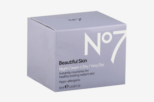 No7 Beautiful Skin Night Cream Dry/Very Dry.