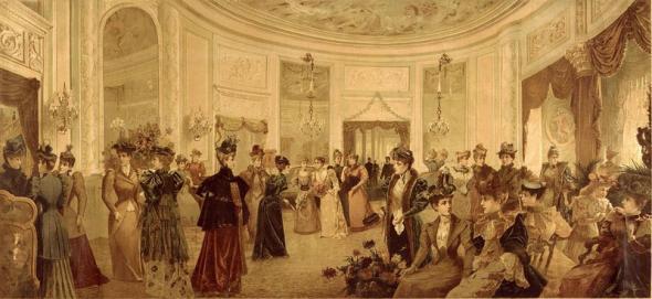 Octagon Room Waldof Astoria Hotel 1893