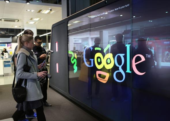 Google Opens First Physical