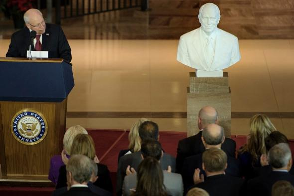 Dick Cheney bust