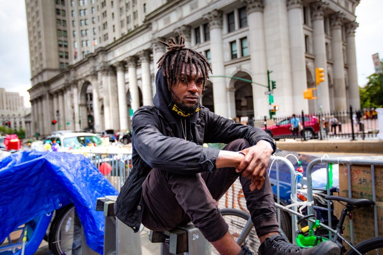 Jawanza James Williams, one of the original organizers of Occupy City Hall