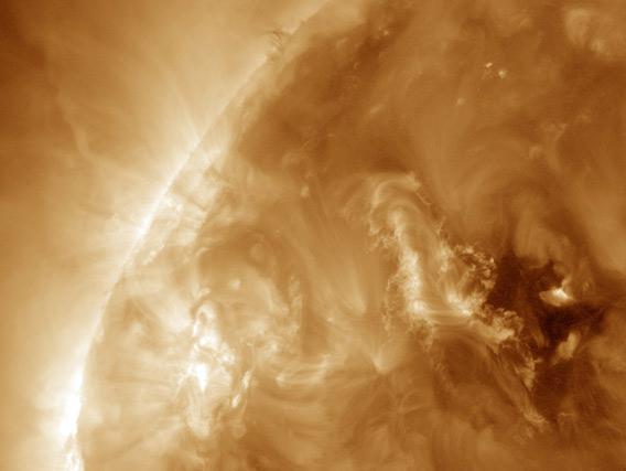 The Sun erupts!