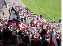River Plate takes a victory lap before the game