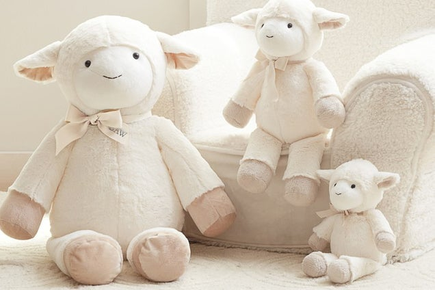 Pottery Barn Kids Lamb Plush