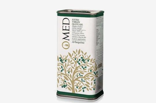 O-Med Arbequina Extra Virgin Olive Oil.