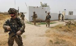 US troops from the Battle Co., 1-32 Infantry Battalion in Kandahar province, the heartland of the Taliban in southern Afghanistan. Click image to expand.