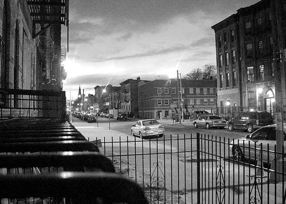The Bedford-Stuyvesant neighborhood of Brooklyn, NY, April 2007.