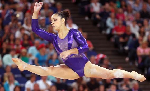 2012 Olympics Gymnastics Female Gymnasts Used To Be