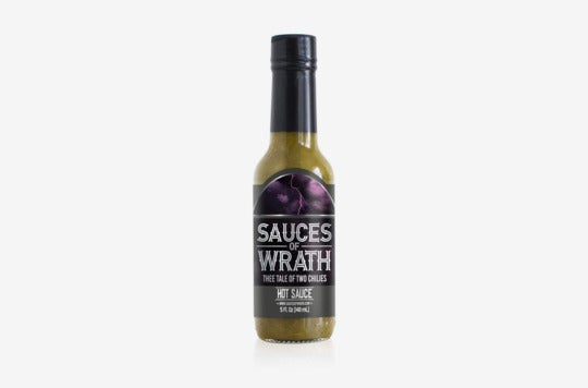 Sauces of Wrath—Thee Tale of Two Chilies.