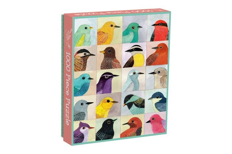 Galison Avian Friends 1000-Piece Puzzle