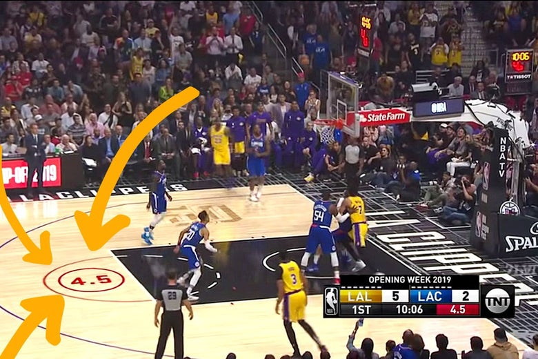 TNT's New On-Court Shot Clock Is an Abomination