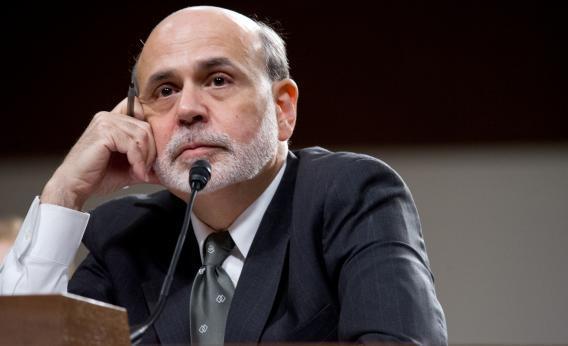 U.S. Federal Reserve Board Chairman Ben Bernanke