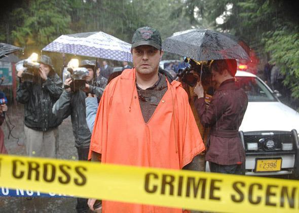 Rainn Wilson in Backstrom.