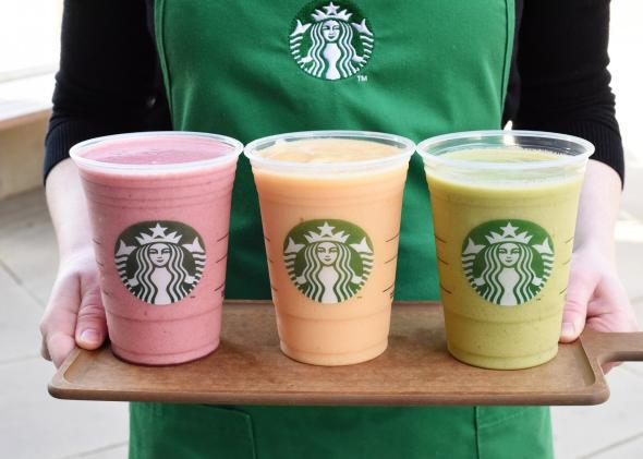 Starbucks kale smoothies: A departure for the coffee chain, but it might work.