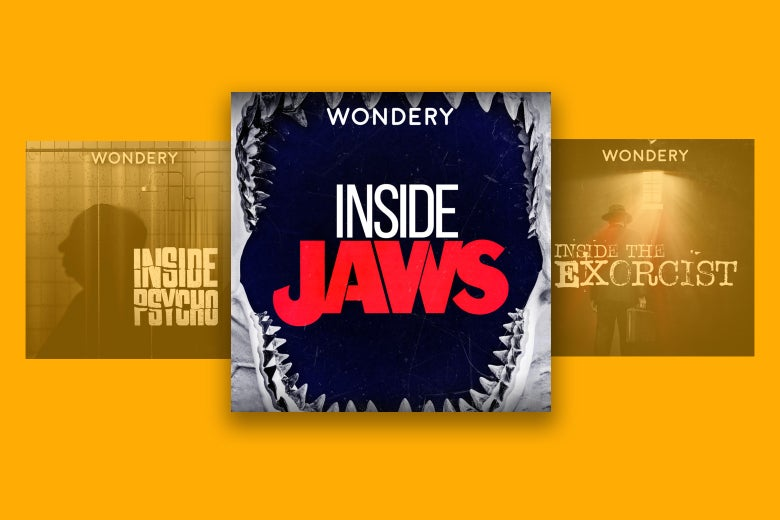 Cover art for Inside Psycho, Inside Jaws, and Inside The Exorcist.