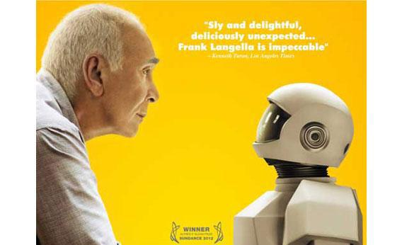 "Promotional poster for ""Robot and Frank."""