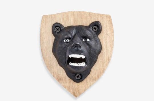 Kikkerland Design bear bottle opener.