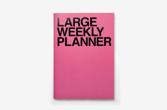 JStory Large Personal Wide Spaces Weekly Planner.