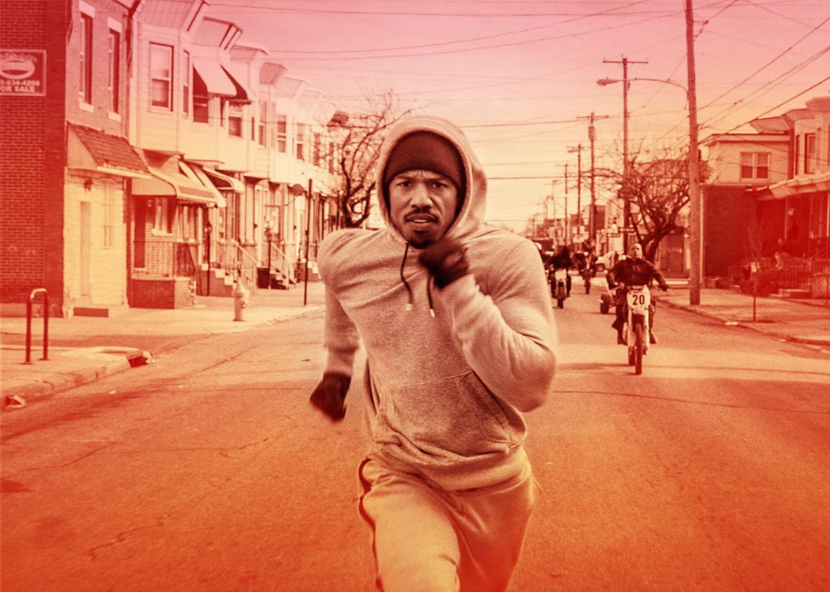 Michael B. Jordan as Adonis Johnson in Creed.