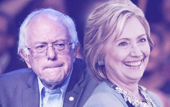 Bernie Sanders or Hillary Clinton