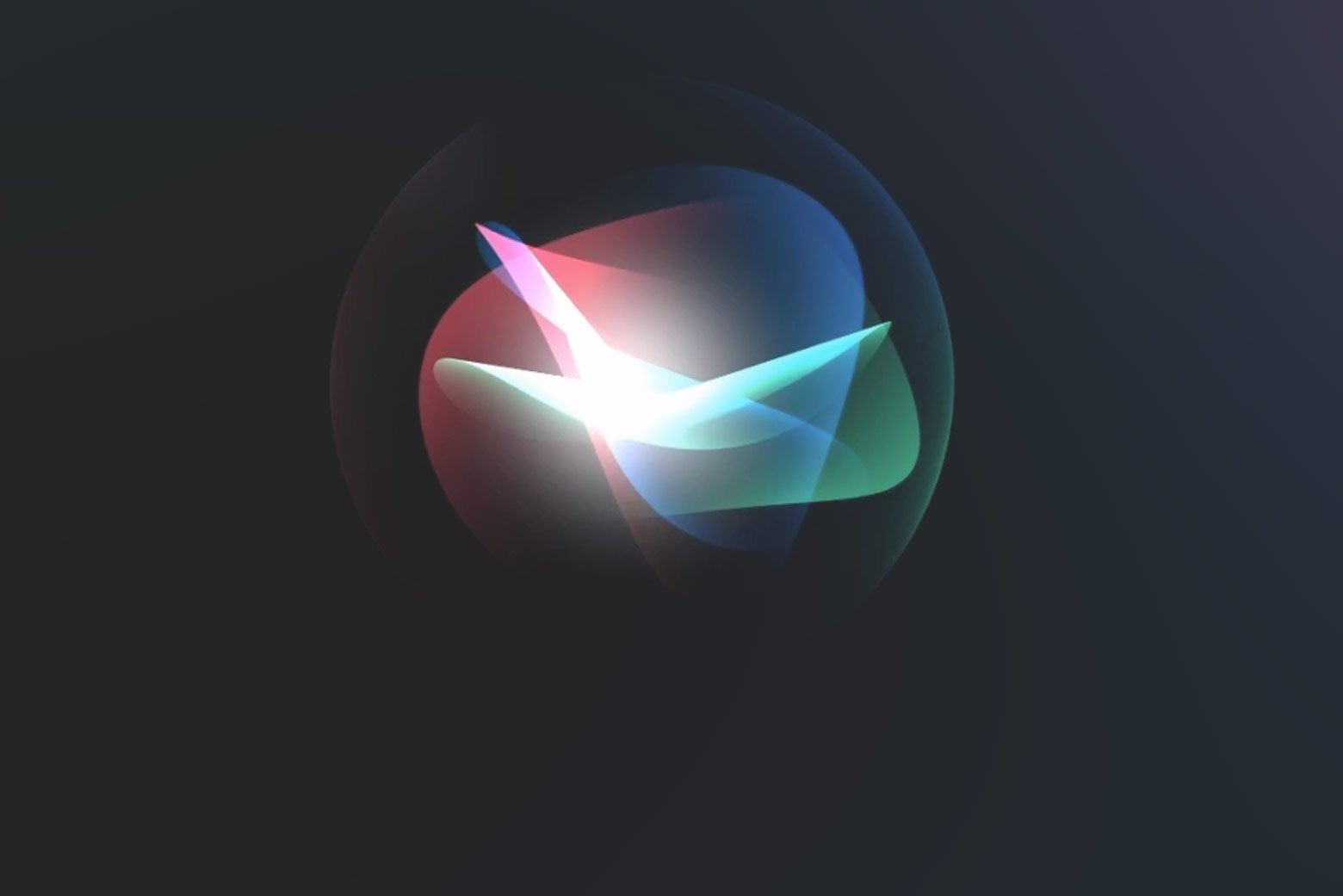 The Siri icon.