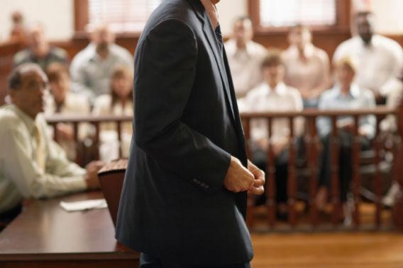 Attorney Speaking to Court.