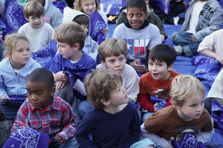 Texas schoolchildren.