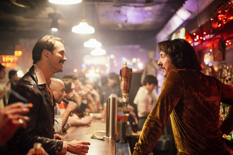 Season 2, Episode 2 of The Deuce, staring Aaron Dean Eisenberg and Chris Coy.