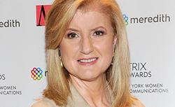 Arianna Huffington. Click image to expand.