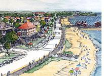 Proposed Beach Boulevard, Waveland         Click image to expand.