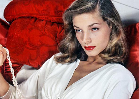 American actress Lauren Bacall, circa 1950.