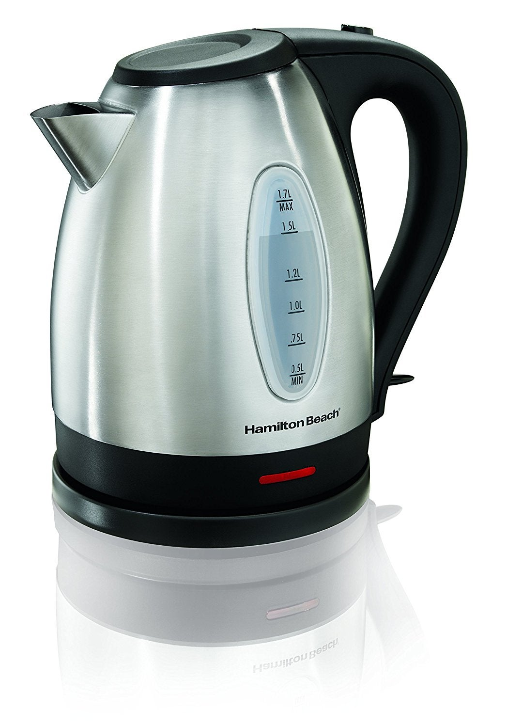 Hamilton Beach 40880 Stainless Steel 1.7 Liter Electric Kettle