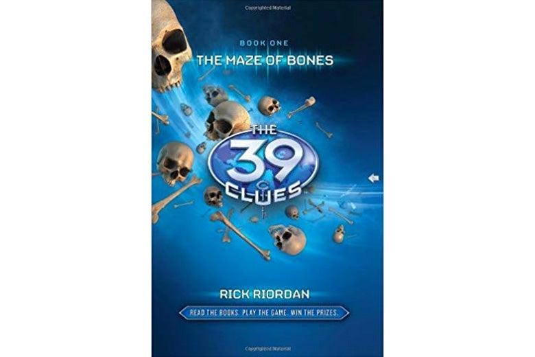 The 39 Clues by Rick Riordan.