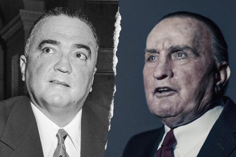 J. Edgar Hoover and Martin Sheen.