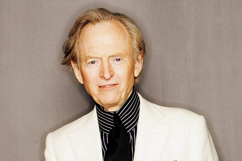 Tom Wolfe poses for a portrait during the Tribeca Film Festival at the Tribeca Grand Hotel April 23, 2005 in New York City.