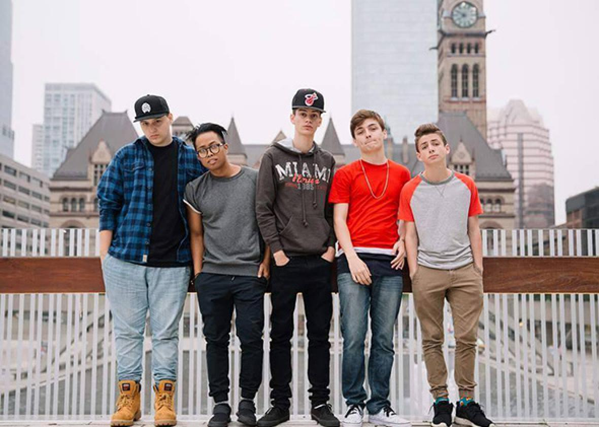 Timmy Connors, RudanC, Edwin Burgos, Nick Bean and Zach Clayton.