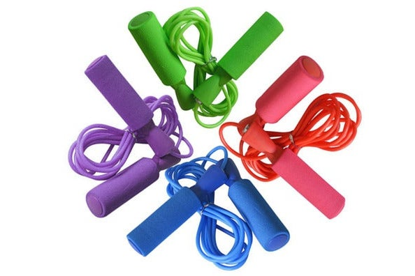 jump ropes in assorted colors