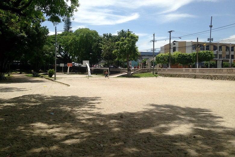 Parque Cucatlán before its recent renovation